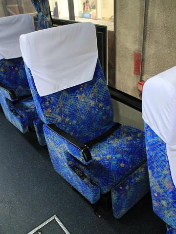 西鉄高速バス「桜島号」 6020 シート