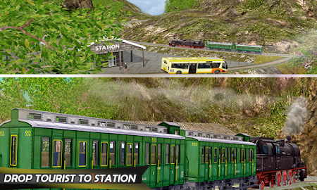Tourist Train Hill Driving 1.1 screenshot 1660463