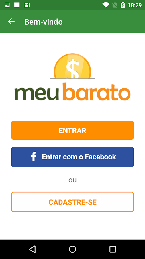 Meu Barato- screenshot
