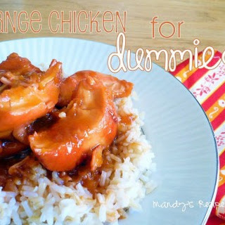 Orange Chicken For Dummies.