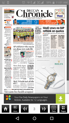 DeccanChronicle ePaper - screenshot