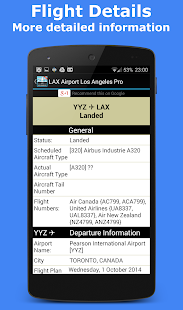 Gatwick Flight Information - screenshot thumbnail