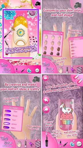 Nail Salon Manicure Game 1.9 screenshots 1