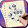 How to Draw Power Puff Girl APK