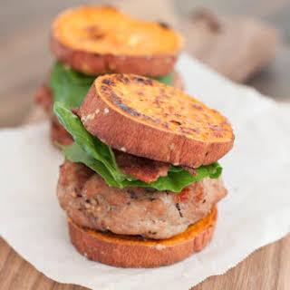 Sweet Potato Turkey Burger Sliders.