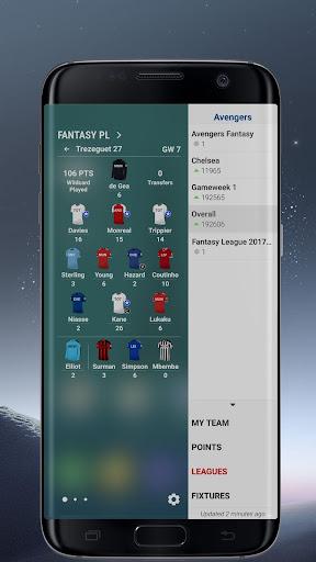 Edge Panel for Fantasy Premier League by Edge Master (Google