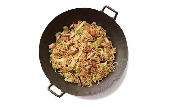 Lo Mein On Totem Pole (sallye) Or Chow Mein Recipe