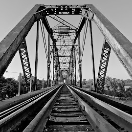 by Shawn Thomas - Transportation Railway Tracks