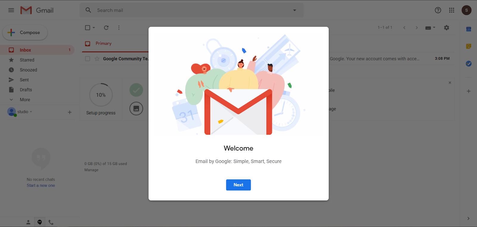 membuat akun gmail di laptop