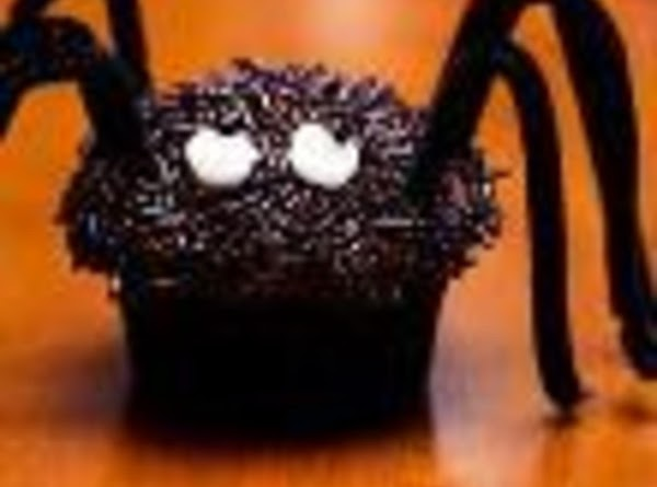 great Spiders add 6 black licorice for lefs bend in half and tie with a...