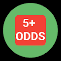 5+ BETTING ODDS icon