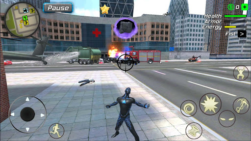Black Hole Hero : Vice Vegas Rope Mafia 1.0.3 screenshots 12