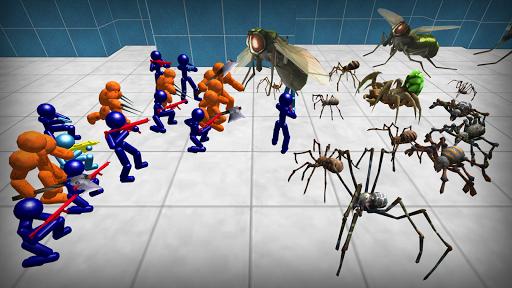 Stickman Spiders Battle Simulator 1.01 screenshots 5