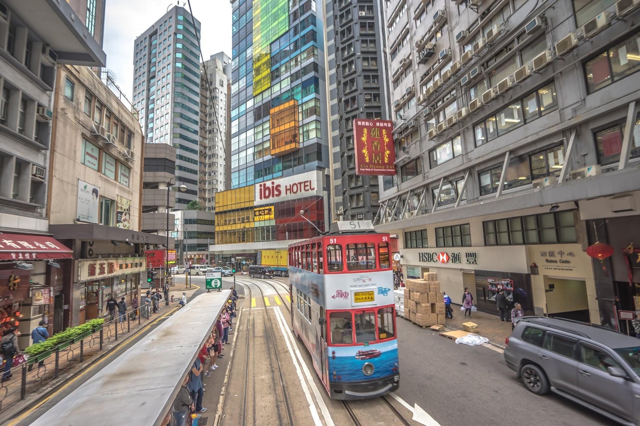 Hong Kong tram1
