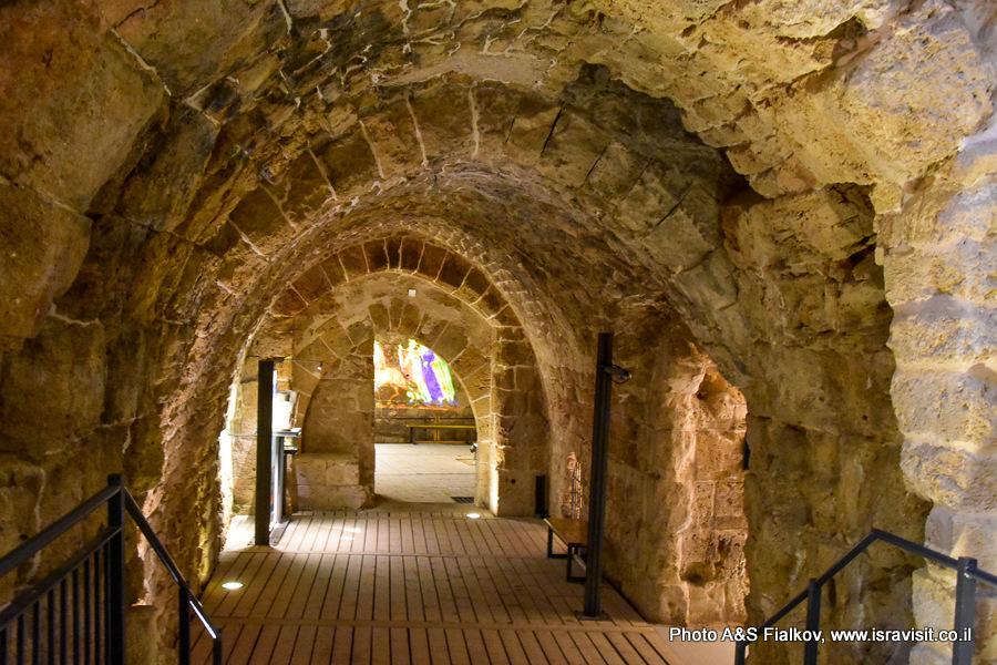 Крепость Госпитальеров в Акко. Экскурсия в подземный город крестоносцев гида Светланы Фиалковой.