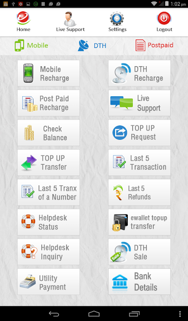 #10. My Recharge With Live Supports (Android)