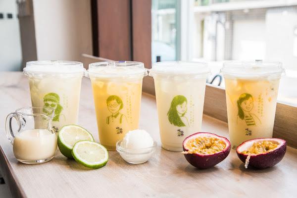 女孩們喝起來,吃茶三千台灣概念店女神系飲品!散發天然女神光!空中茶園 茶窖熟成室 LION萃茶機