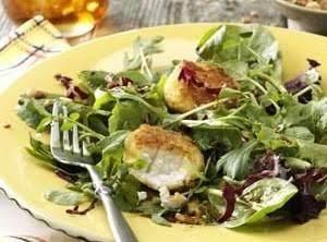 Honey Pecan & Goat Cheese Salad Recipe