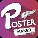 Poster Maker, Flyer, Banner Maker, Graphic Design icon