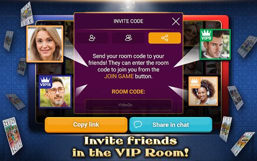 VIP Tarot - Free French Tarot Online Card Game 3.6.17 screenshots 10