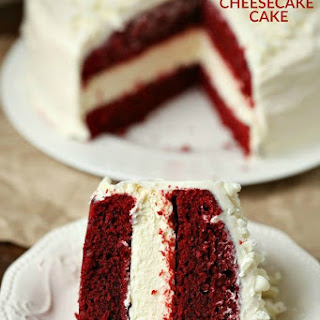 Cheesecake Factory Red Velvet Cheesecake Cake.