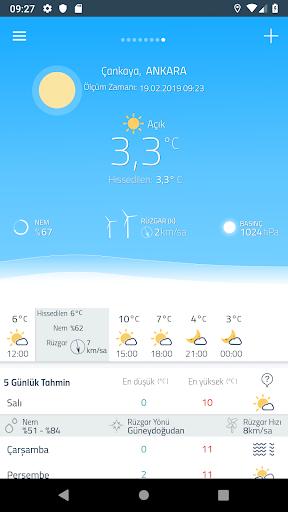 Meteoroloji Hava Durumu 6.1.8 Screenshots 2
