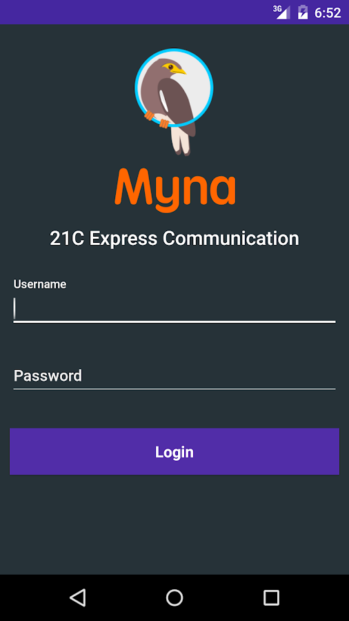 Myna- screenshot