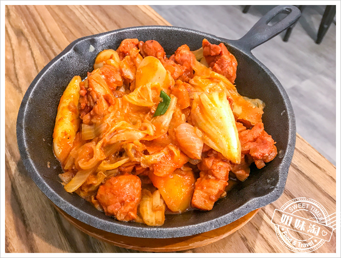 權太太的韓食堂辣炒雞肉