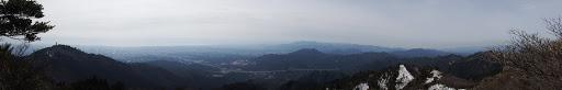 仙の岩付近からパノラマ