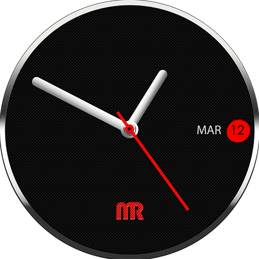 Black and White watch face