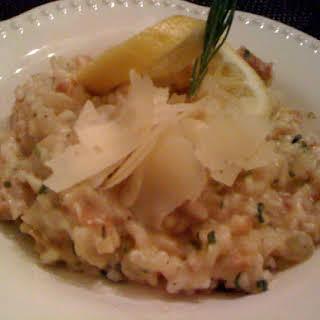 Lemon Risotto with Prosciutto.