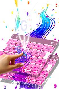 Zdarma 2017 Rainbow klávesnice - náhled