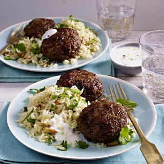 Curried Meatballs with Cinnamon Rice