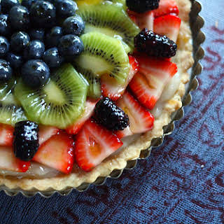 Last-Minute Vegan Fruit Tart.