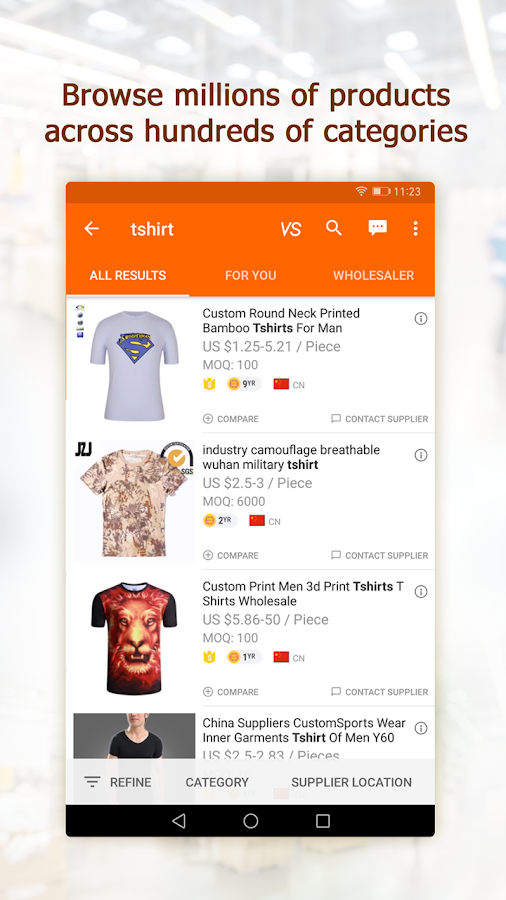 Alibaba.com B2B Trade App- screenshot