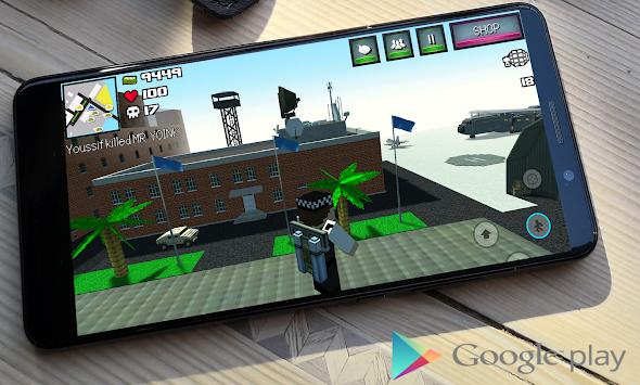Cube City War apk screenshot