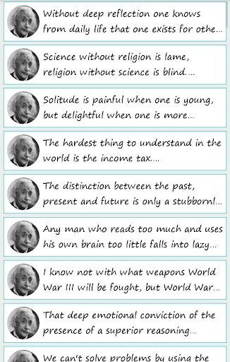 101 Great Saying by A'Einstein