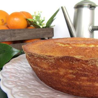 Orange and Cardamom Cake.