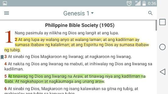 Ang dating biblia genesis 2
