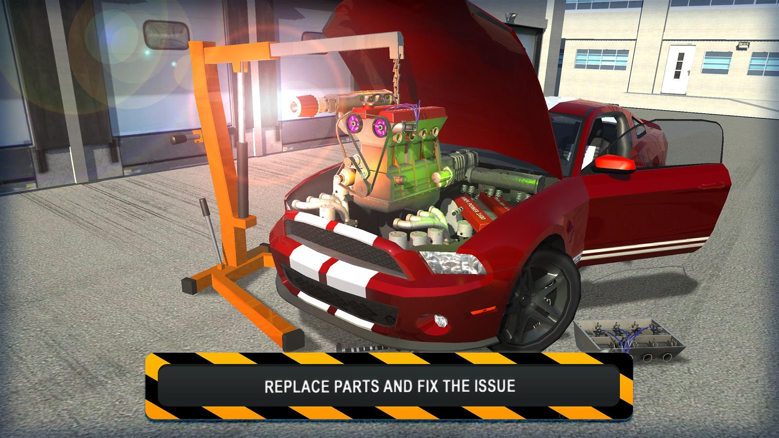 Car Repair Simulator Games