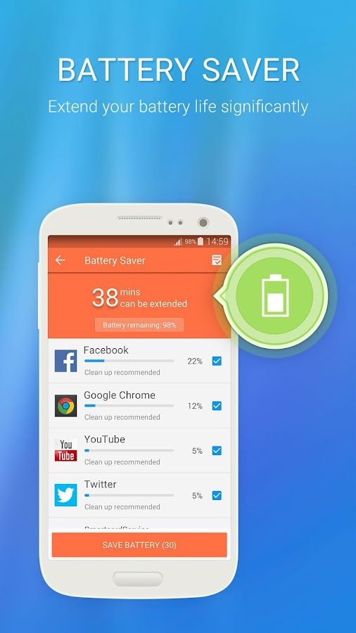 Screenshots of 360 Security Lite Speed Boost for iPhone
