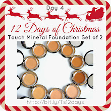 Photo: Thea's 12 Days of Christmas - Day 4 Touch Mineral Foundation - set of 2  SHOP YOUNIQUE BY THEA: http://bit.ly/youbythea  #youniquebythea  #touchminerals  #12daysofchristmas  #theateam  #teamthea  #12daysofxmas  #makeupproducts #theas12days