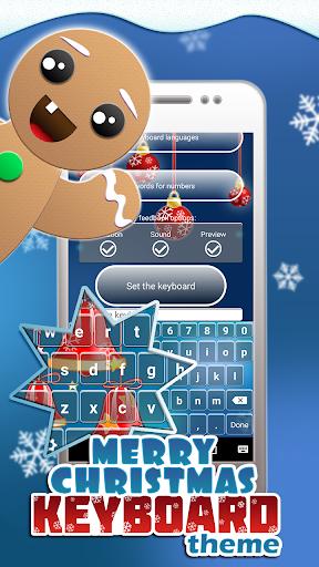 メリークリスマスのキーボードのテーマ