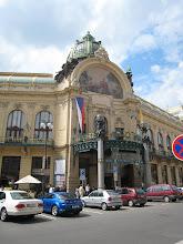 Photo: The gorgeous Art Nouveau Municipal House.
