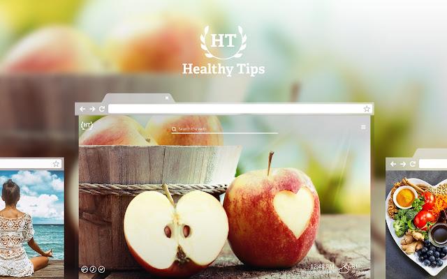 Healthy Tips Hd Wallpaper New Tab Theme