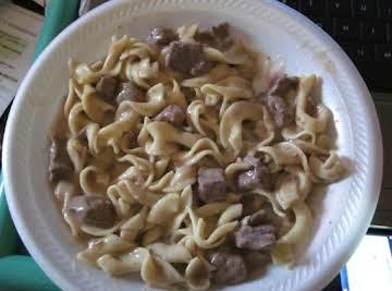 Easy Crockpot Beef Tips
