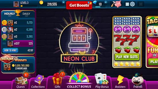 Neon Club Slots - Jackpot Winners Game - náhled