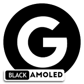Pixel Oreo 8 Black AMOLED UX - Icon Pack