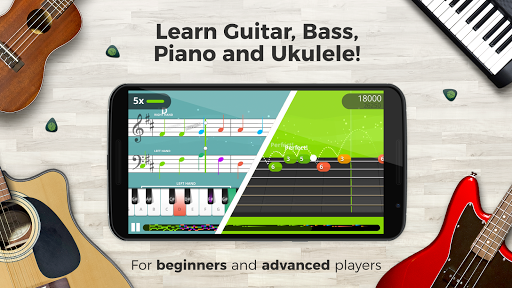 Yousician -  Learn Guitar, Piano, Bass & Ukulele  screenshots 2