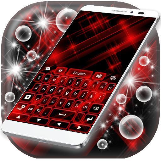 Red Keyboard Glow GO